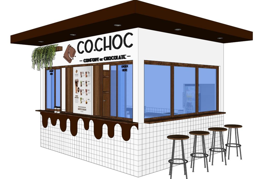 MBV group CoChoc master design concept booth